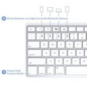 Satechi Bluetooth Wireless Smart Keyboard1