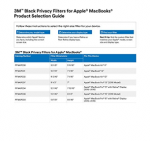 3M Privacy Filter for MacBook Air 11 inch Widescreen image 3