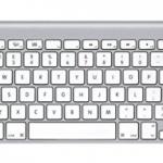 Apple Wireless Keyboard - UK Keyboard Layout 1