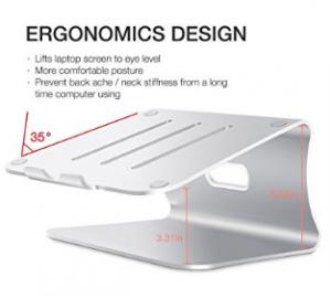 Bestand Aluminum Laptop Stand Desktop Macbook image 1