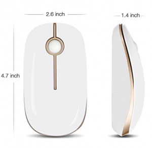 Wireless Mouse Jelly Comb for PC/Tablet/Laptop and Windows/Mac/Linux 1