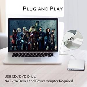 Patuoxun Portable USB DVD Burner Drive image 1