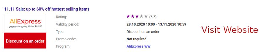 hottest code-promo-aliexpress-2020